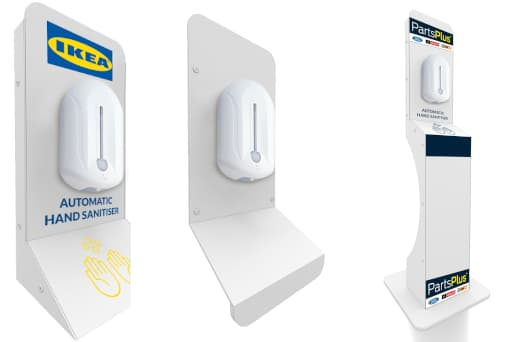 Hand Sanitiser Dispensers