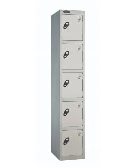 Probe Five Door Compartment Lockers