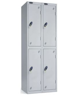 Probe Two Door Compartment Lockers Nest Of 2