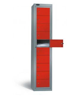 Ten Compartment Multi Door Locker