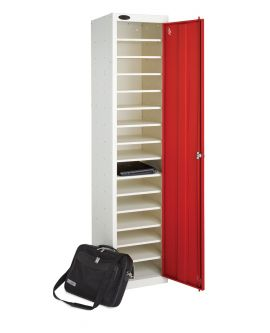Single Door 15 Shelf Laptop Locker