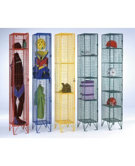 Wire Mesh Lockers Full Height