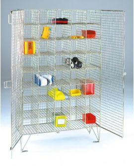 Wire Mesh Multi Compartment Lockers