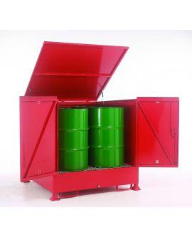 Drum Enclosed Sump Storage System
