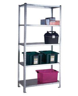 Standard Duty Galvanised Shelving - Steel Shelves