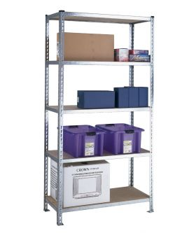 Standard Duty Galvanised Shelving - Chipboard Shelves