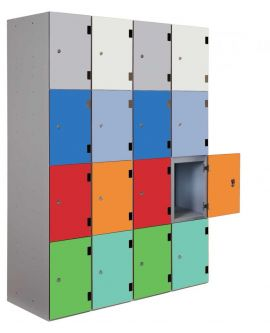 Probe Shockproof Lockers Overlay Doors