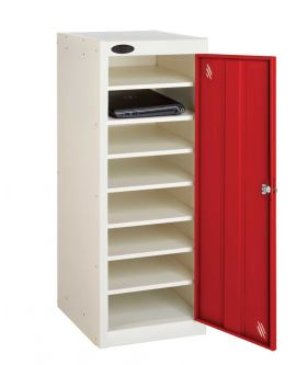 Low 8 Compartment Storage Locker