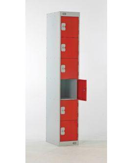 Six Door Compartment Lockers