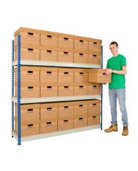 Express Delivery - Medium Duty Archive Rivet Racking