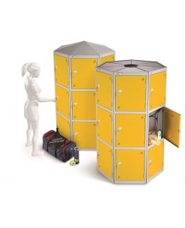 Large Locker Pod