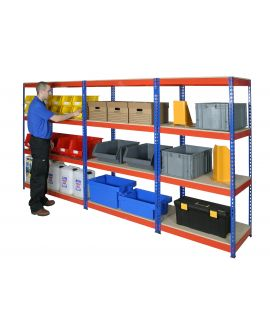 Heavy Duty Short Span Rivet Racking