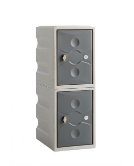 Ultrabox 2 Door Mini Plastic Locker