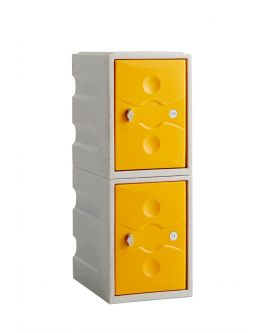 Ultrabox Plus 2 Door Mini Plastic Locker