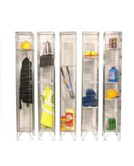 Wire Mesh Lockers Economy Range