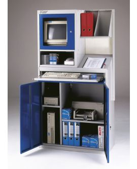 Tall Computer Workstation