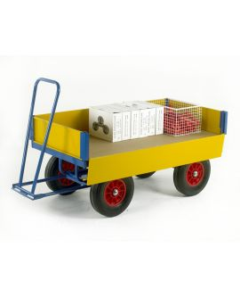 Turntable Trailer With Drop Down Side Panels (750kg Capacity)