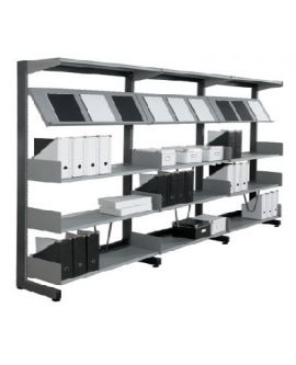 Technic Library Shelving -double Sided