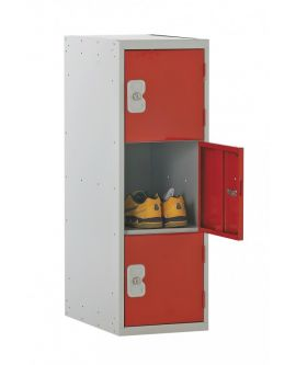 Half Height Primary Lockers - 3 Compartments