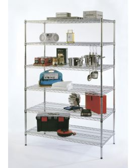 Chrome Wire Shelving - Budget Range