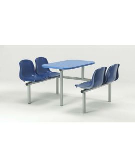 Polypropylene Canteen Seating Units Model