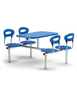 Polypropylene Canteen Seating Units Model DL/CU43