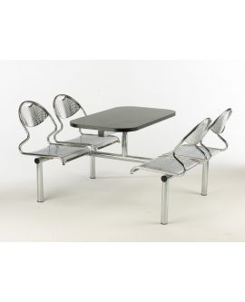 Metal Seat Contemporary Canteen Units Model DL/CU45