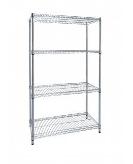 Chrome Wire Shelving - Premier Range