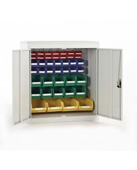 Type K Louvre Panel Cupboard