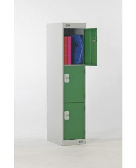 Three Quarter Height Primary Lockers - 3 Compartments