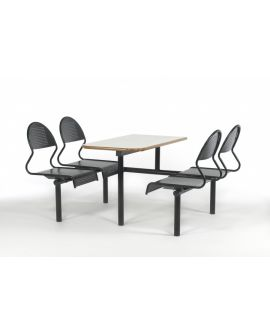 Metal Seat Contemporary Canteen Units Model DL/CU48