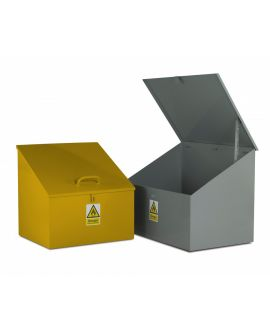 Hazardous Bins - Sloping Top