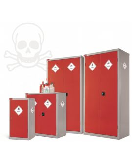 8 Compartment Toxic Cabinet