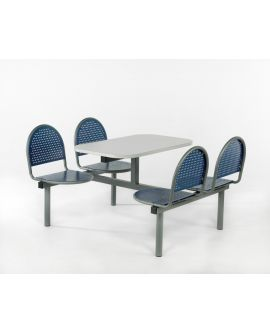 Metal Seat Contemporary Canteen Units Model CU17