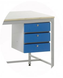 Accessories To Suit Standard Duty Work Benches - 3 Drawer Unit