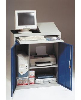 Flat Top Computer Workstation