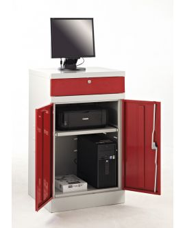 Flat Top Compact Computer Workstation