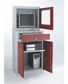 Flat Screen Compact Computer Workstation