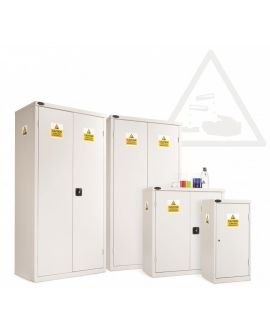 8 Compartment Acid Cabinet