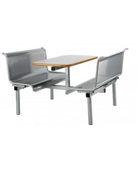 Metal Seat Contemporary Canteen Units Model DL/CU27