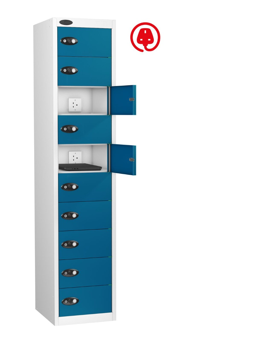 Laptop Computer - the laptop storage/charging locker is ideal for storage of laptops.