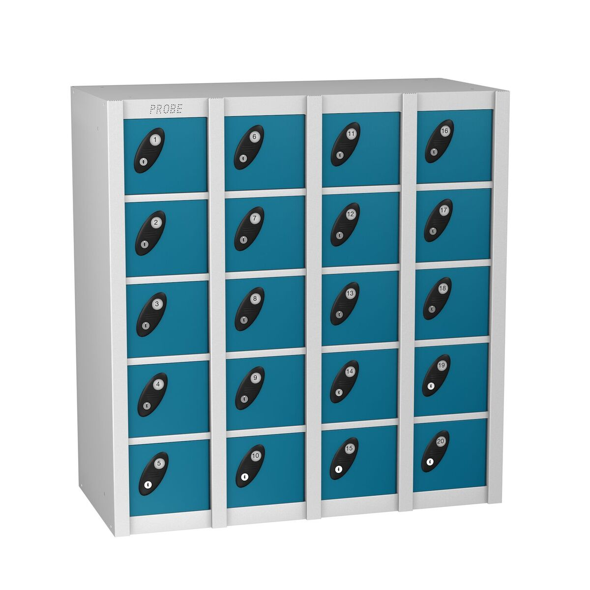 Personal Effect Lockers are ideal for storage of keys, wallets, purses and mobile phones.