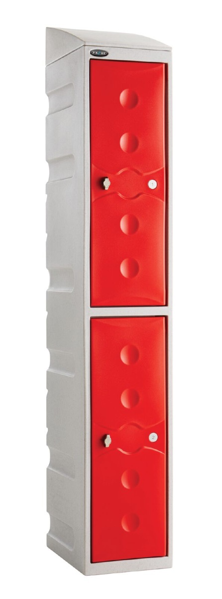 Ultrabox Lockers - plastic lockers will not rust, rot or corrode so are ideal for external storage.